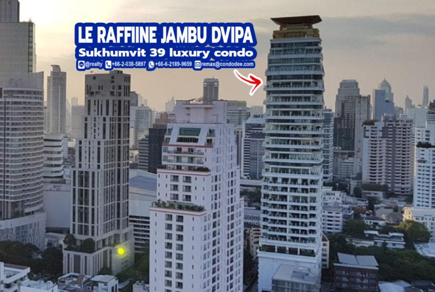 Le Raffine Jambu Dvipa Sukhumvit 39 1 - REMAX CondoDee