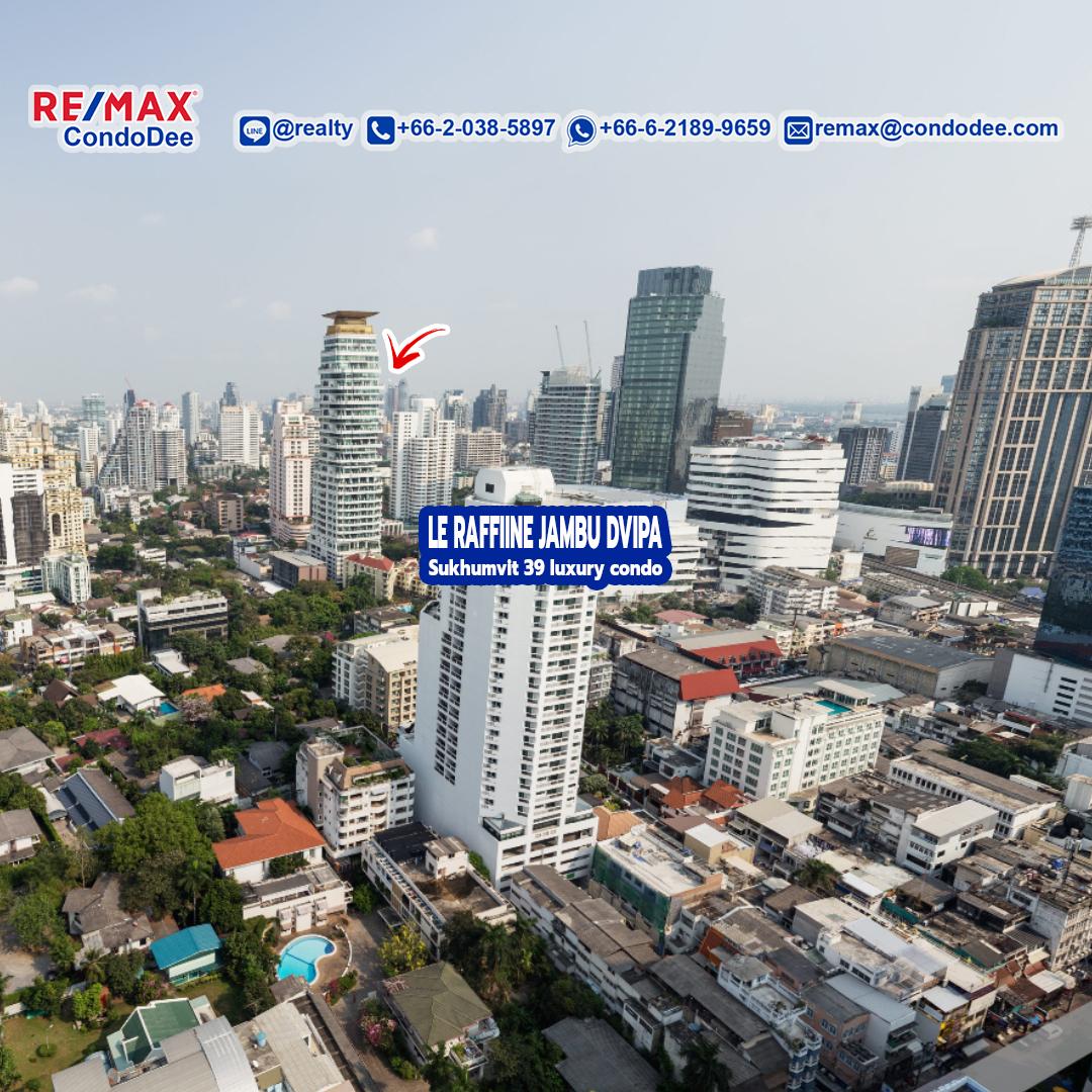 Le Raffine Jambu Dvipa Sukhumvit 39 Luxury Condominium in Phrom Phong