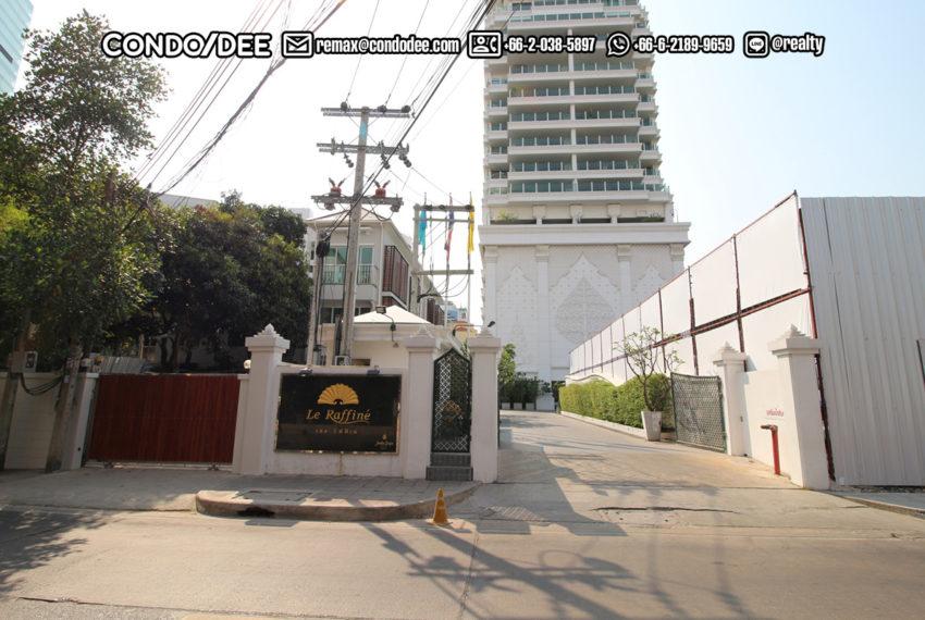 Le Raffine Jambu Dvipa Sukhumvit 39 - entrance