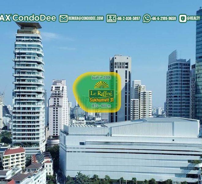 Le Raffine Jambunuda Sukhumvit 31 1 - REMAX Bangkok