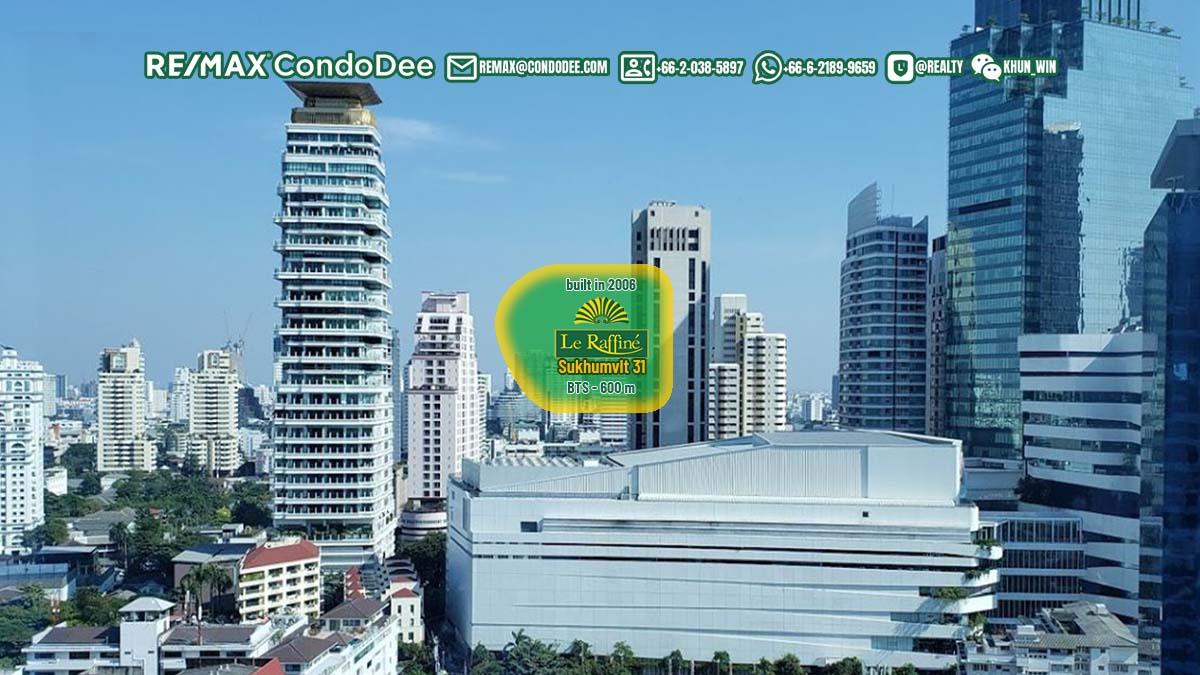 Le Raffine Jambunuda Sukhumvit 31 Luxury Sukhumvit Condominium