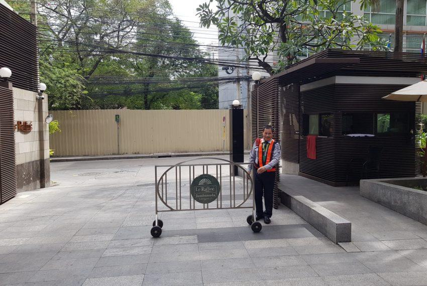 Le Raffine Jambunuda Sukhumvit 31 - security
