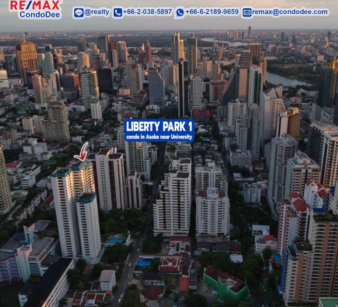 Liberty Park 1 condominium at Sukhumvit 23 in Asoke Near University