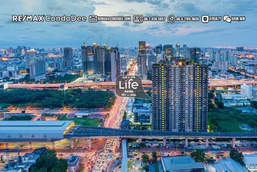 Life Asoke Condominium 1 - REMAX CondoDee