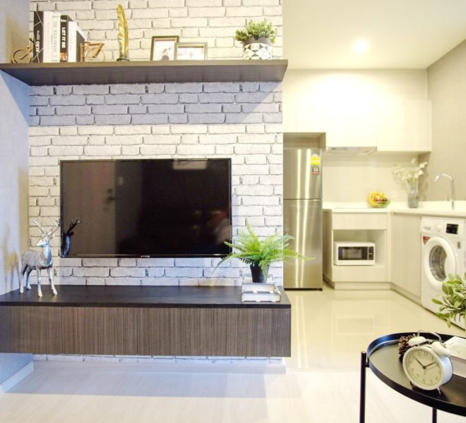 Cheap rent in Asoke near Makkasan Airport Link - 1 bedroom condo - Life Asoke