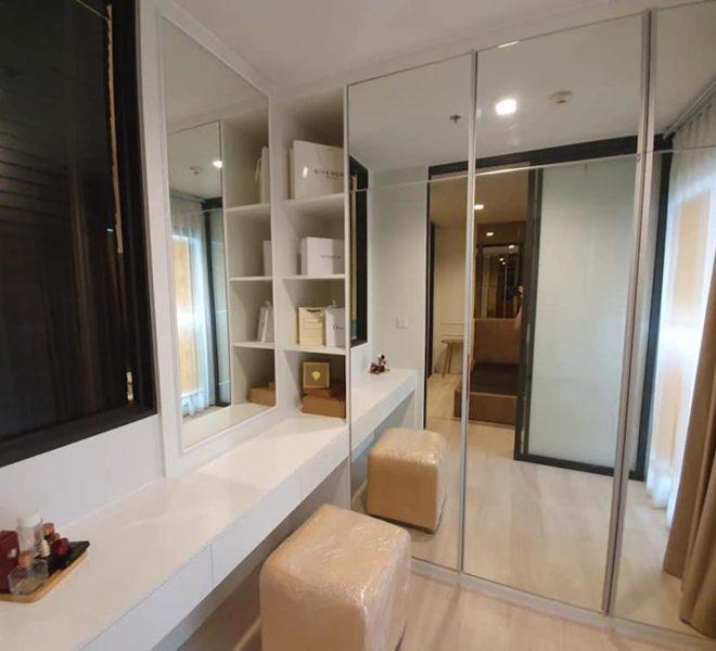 Flat 1-bedroom for rent at Phetchaburi Road near BTS Ploenchit - mid-floor - Life One Wireless