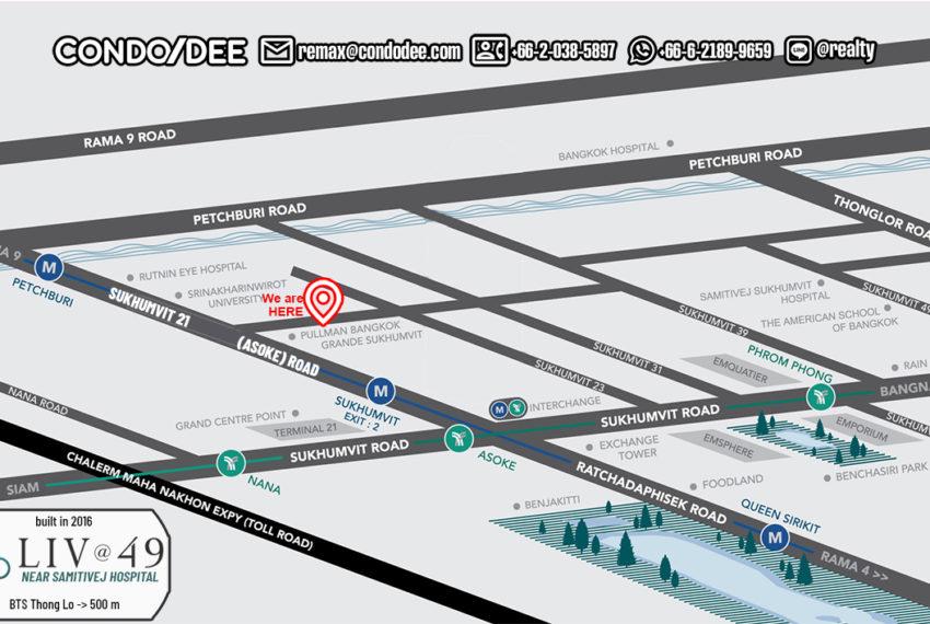 Liv@49 condo - map