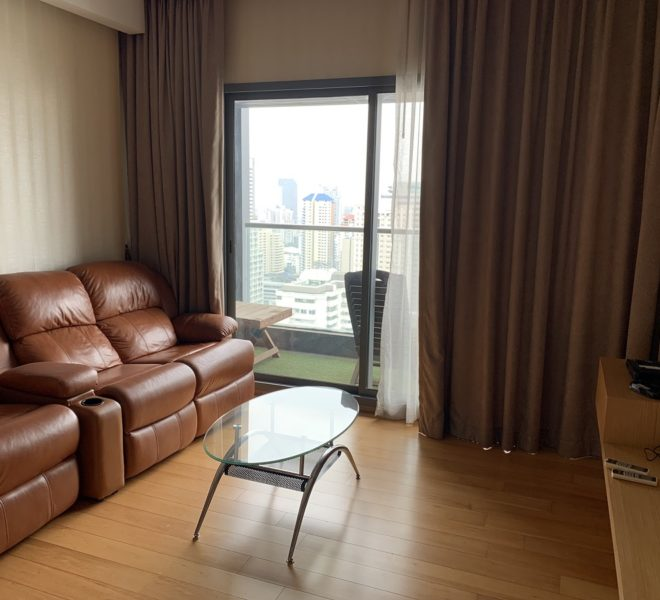 2-bedroom condo for rent near BTS Nana - high floor - Hyde Sukhumvit 13
