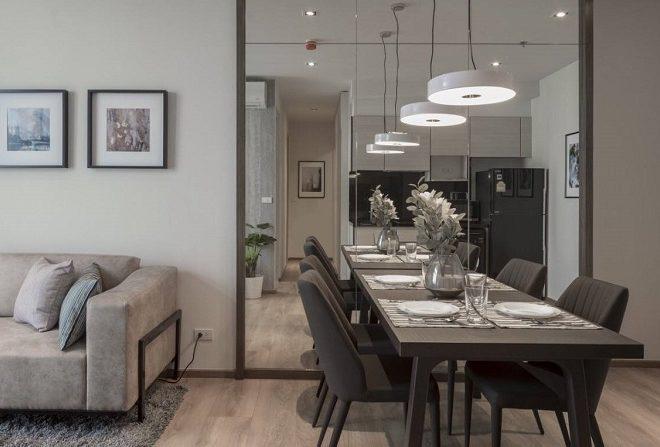 New flat for rent in Prompong - 2 bedroom - high floor - Park 24 condominium