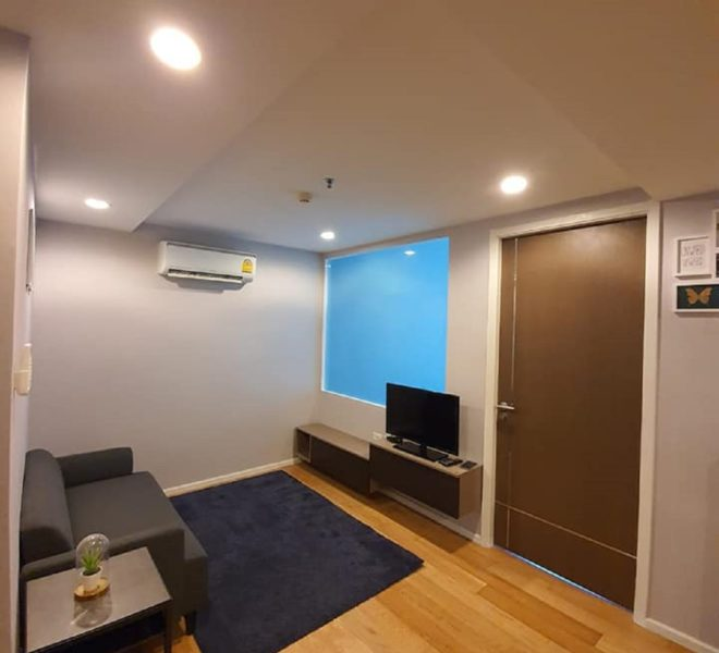 A low-floor condo for rent near BTS Asoke and Nana - 1 bedroom - 15 Sukhumvit Residences