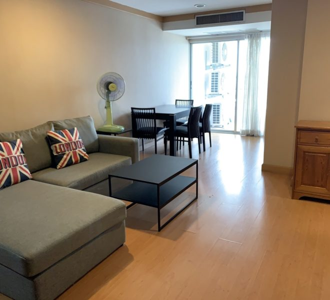Renovated condo near BTS for sale - 2-bedroom - high floor - Waterford Diamond Tower