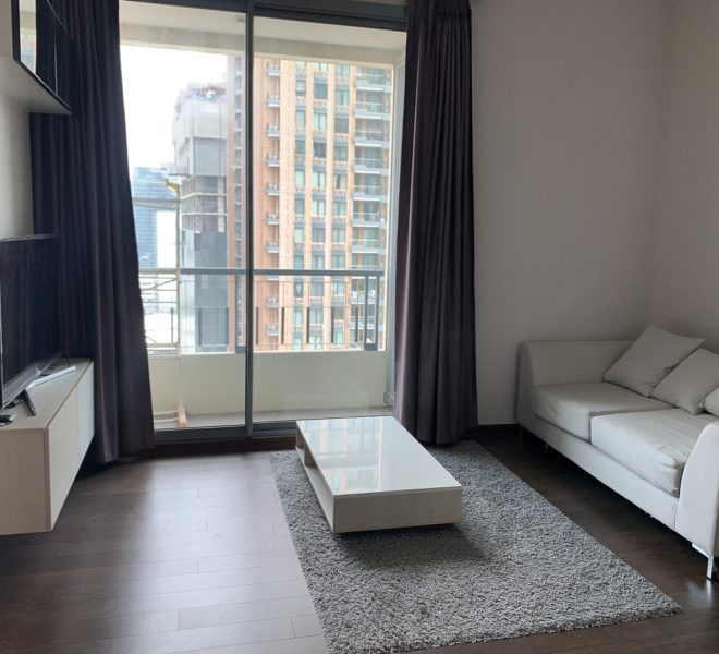 Flat for rent near MRT Phetchaburi - 1 Bedroom - High-Floor - Q Asoke condominium