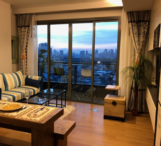 Flat 2 bedroom for rent in Prompong - mid-floor - The Lumpini 24