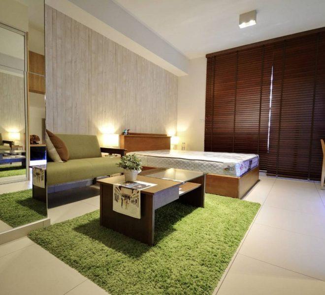 อพาร์ทเม้นท์ให้เช่าใกล้ BTS เอกมัย - 1 ห้องนอน - ชั้นกลาง - The Lofts Ekkamai