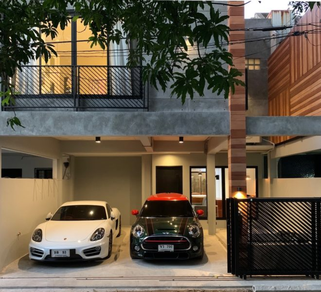 Luxury townhouse for rent at Sukhumvit 49 - 2-story - 3-bedroom