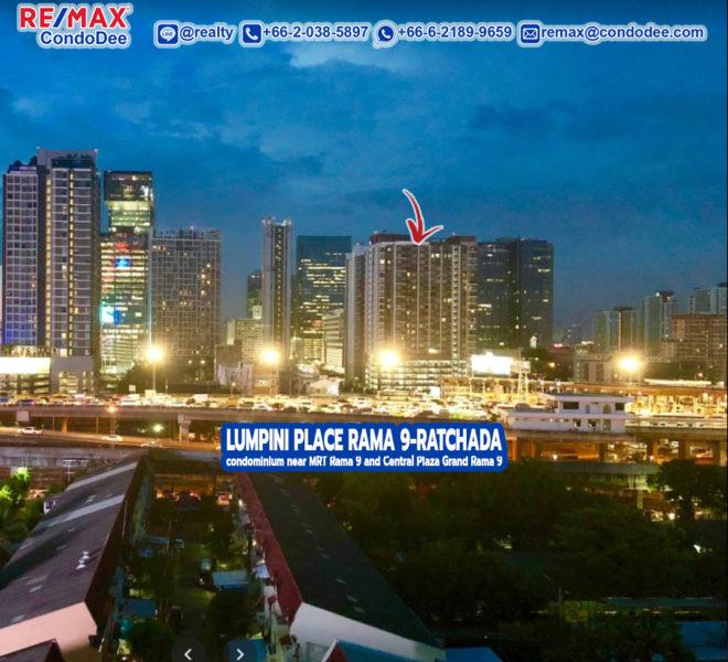 Lumpini Place Rama 9 - Ratchada Condominium near MRT Rama 9