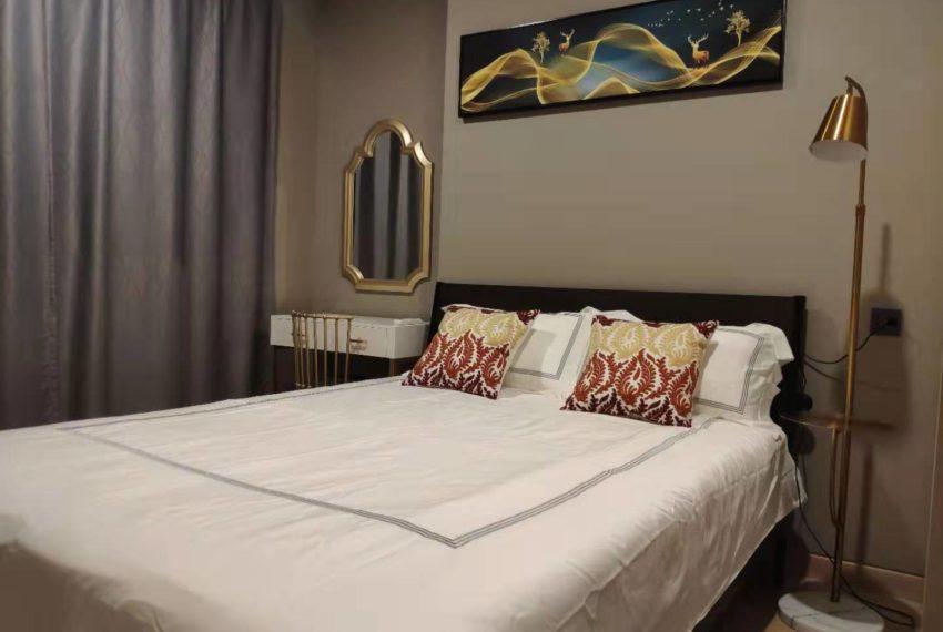 Lumpini Suite Phetchaburi-Makkasan 1-bedroom sale - bedroom
