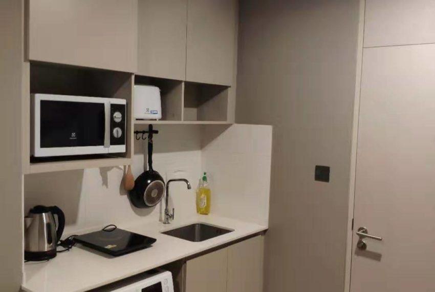 Lumpini Suite Phetchaburi-Makkasan 1-bedroom sale - kitchen