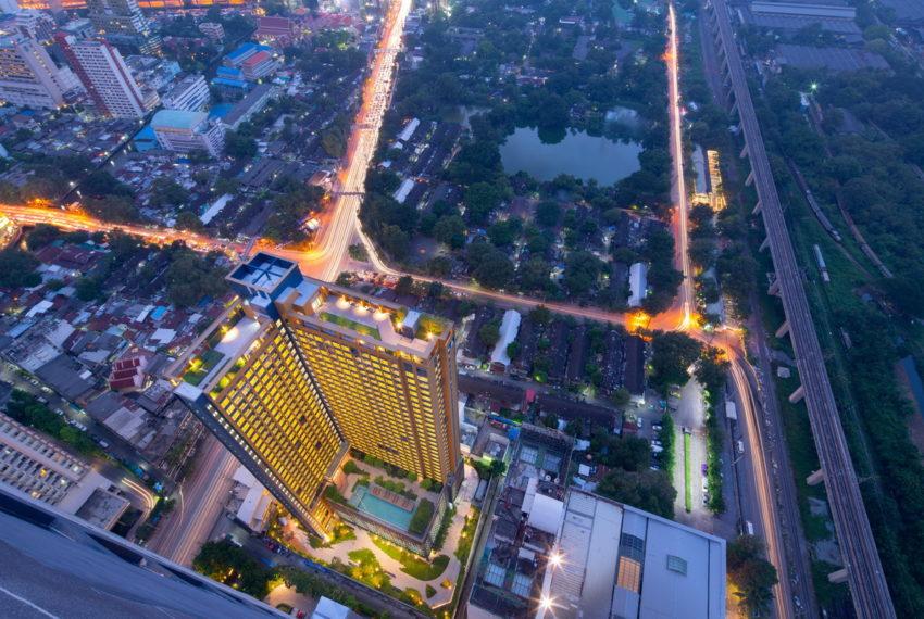 Lumpini Suite Phetchaburi-Makkasan - drone view