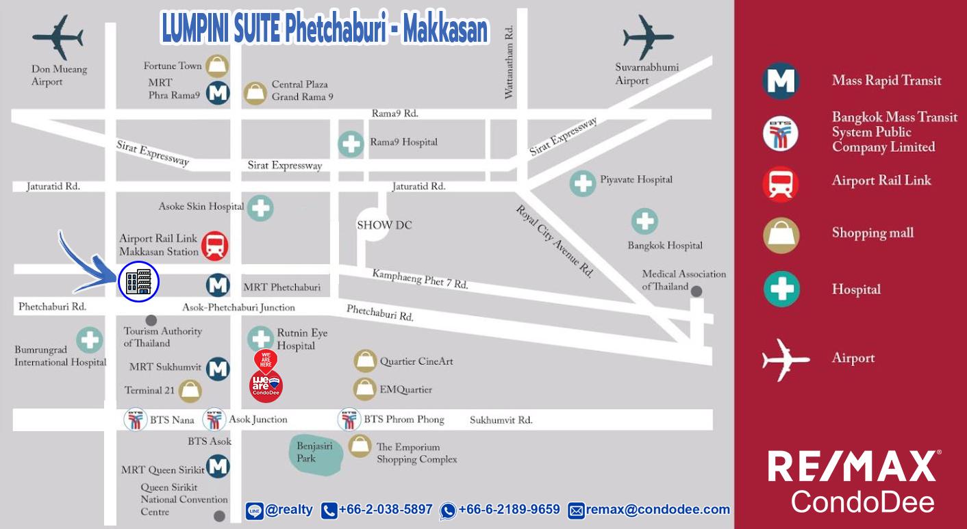 Lumpini Suite Phetchaburi - Makkasan Condominium