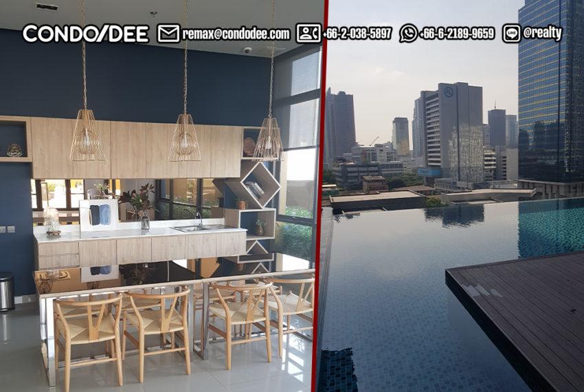 Lumpini Suite Phetchaburi-Makkasan -pool drone view