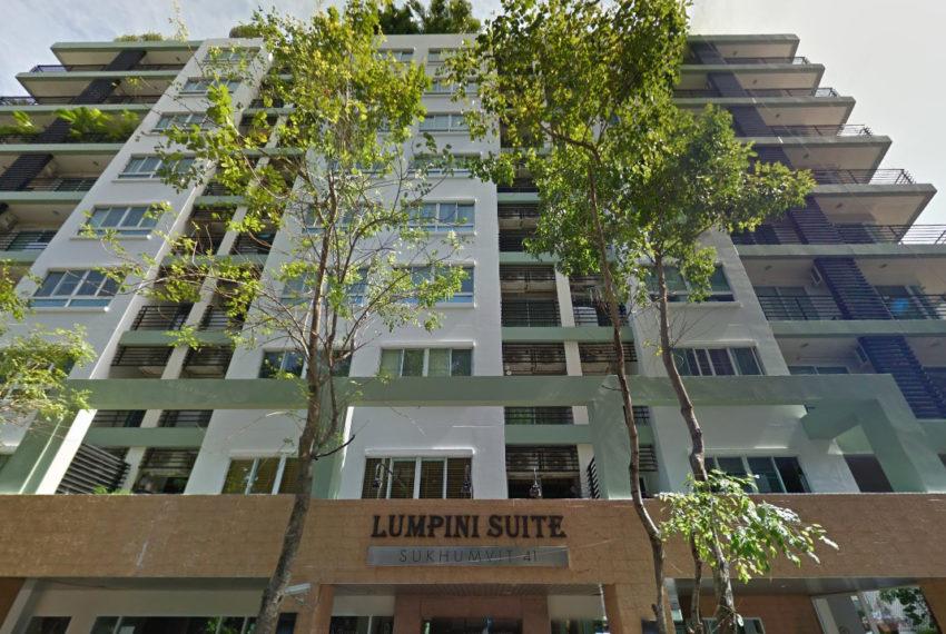 Lumpini Suite Sukhumvit 41 condominium - building