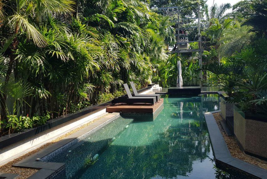 Luxury House-Resort-Sukhumvit-71-sale-rent-garden