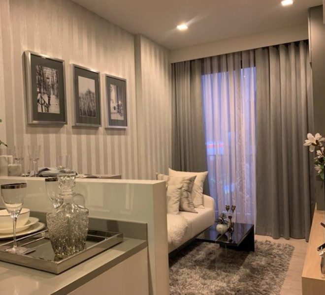 Condo for sale in Thonglor 10 - 1 bedroom - low floor - M Thonglor 10