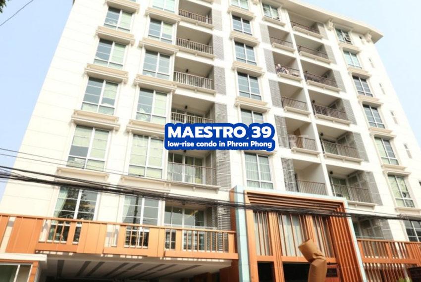 Maestro 39 Sukhumvit 39 condo - REMAX CondoDee