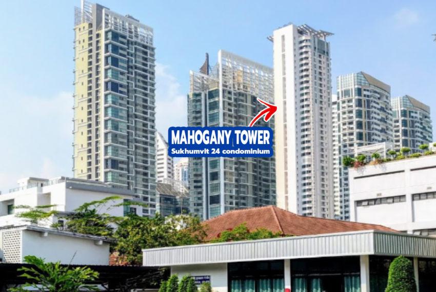 MahMahogany Tower Sukhumvit 24 Condominium in Phrom Phongogany Tower Sukhumvit 24 condo - REMAX CondoDee