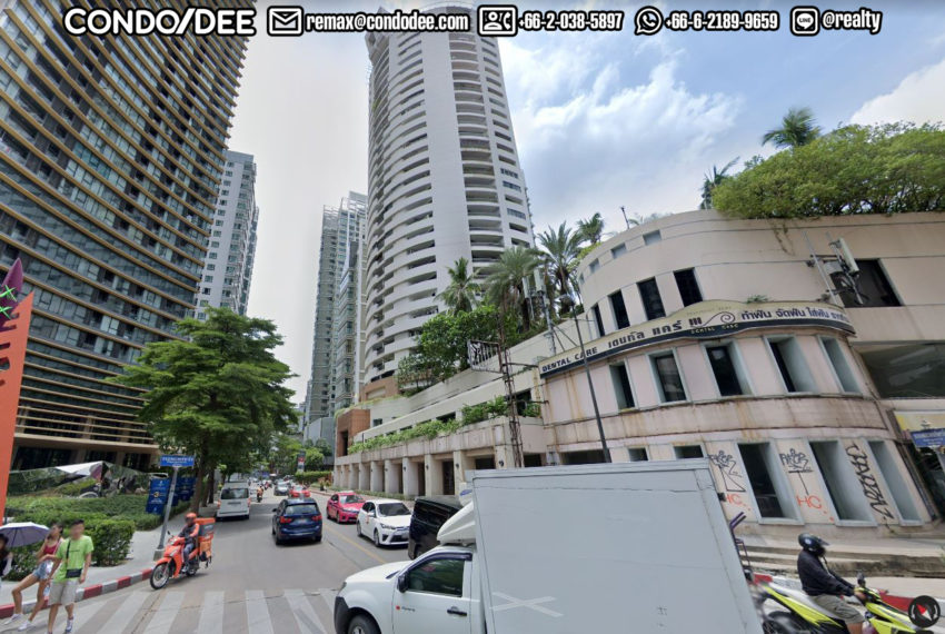 Mahogany Tower Sukhumvit 24 - street view