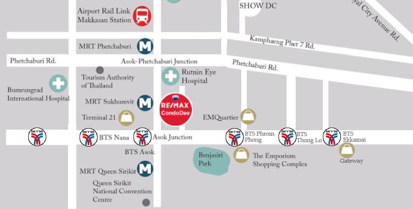 Condo in Bangkok CBD - REMAX CondoDee