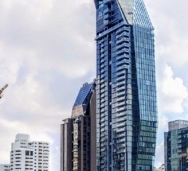 Marque Sukhumvit condominium - skyscrapper