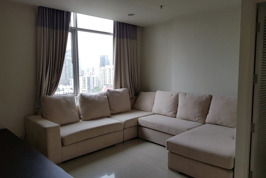 Master Centrium 2-bedroom duplex at Asoke for sale - partually furnished