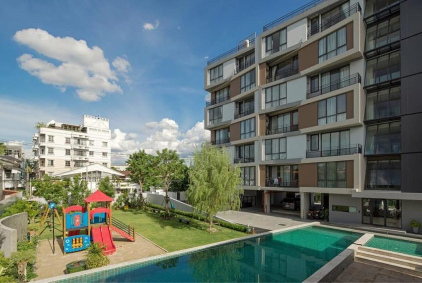 Mattani Suites Ekkamai 22 apartment - garden