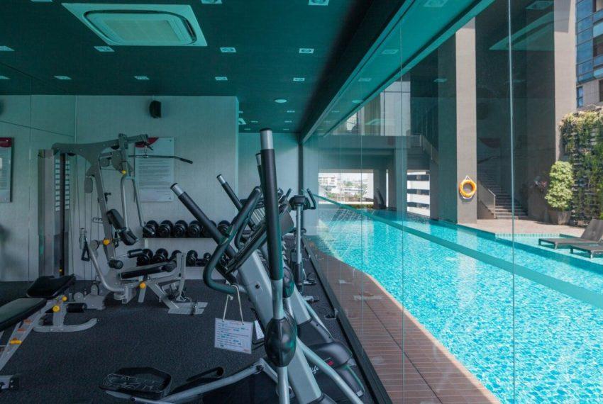 Mattani Suites Ekkamai 22 apartment - gym