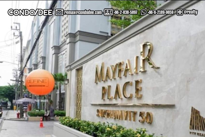 Mayfair Place Sukhumvit 50 condo - entrance