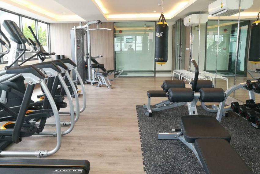 Mayfair Place Sukhumvit 50 condo - gym