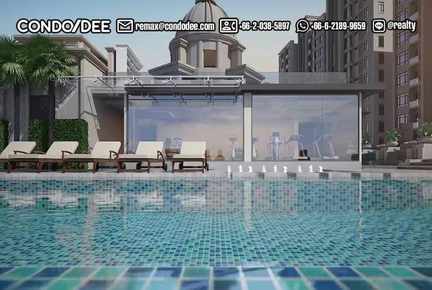 Mayfair Place Sukhumvit 50 condo - swimming pool