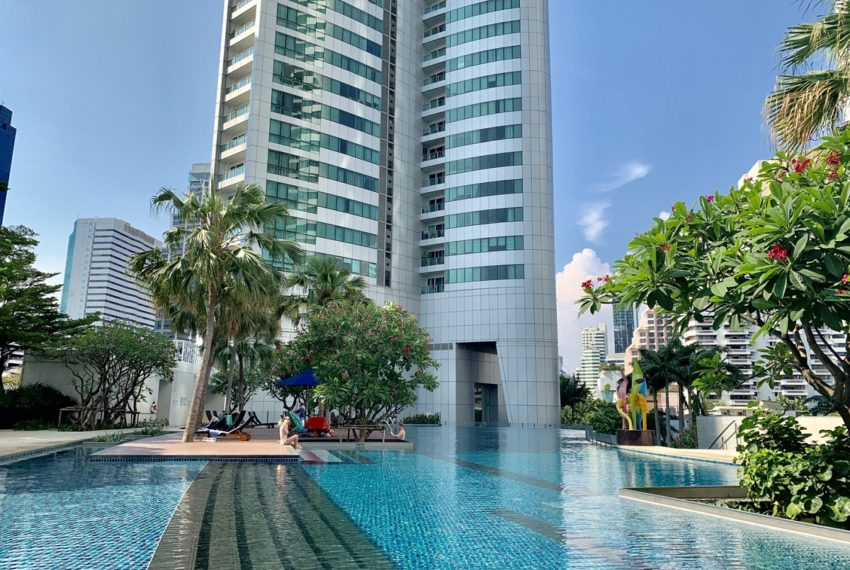 Millennium Residence -2 bed 3 bath-swimming pool