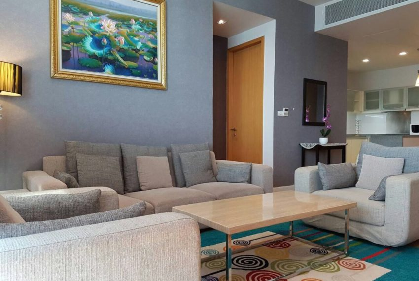 Millennium Residence 2 bedrooms high floor rent - fully furnished