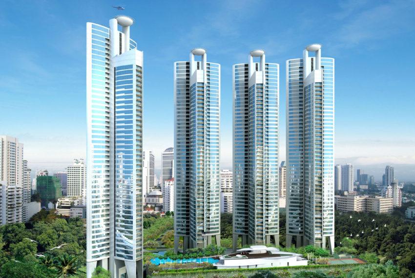 Millennium Residence Condominium Sukhumvit 20 - 4 towers