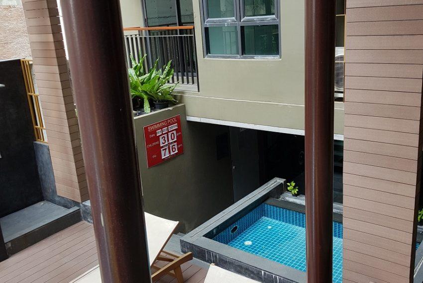 Mirage Sukhumvit 27 1-bed New 53sqm - balcony