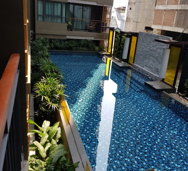 Larger 1-bedroom Condo - Pool View at Mirage Sukhumvit 27