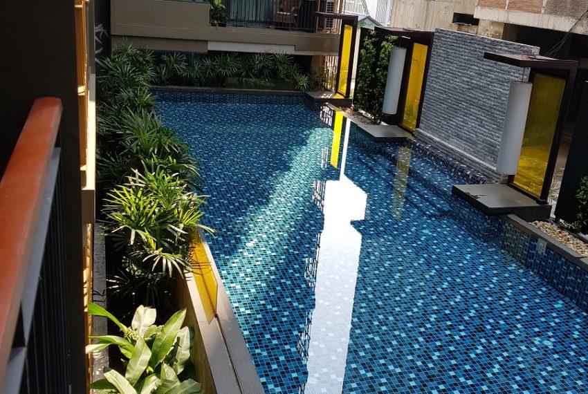 Mirage Sukhumvit 27 1-bed New 53sqm - balcony pool view