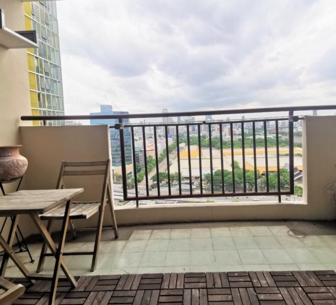 Rental in Asoke 2-Bedroom in Monterey Place on Mid-Floor - Affordable Price - Park View