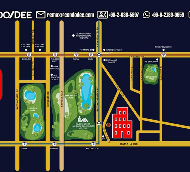 Monterey Place Condominium -map - REMAX CondoDee