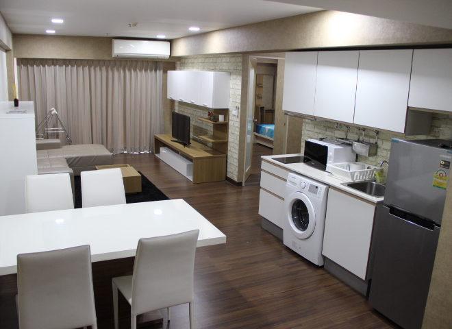 2-bedroom condo in Asoke for rent - high floor - My Resort Bangkok condominium