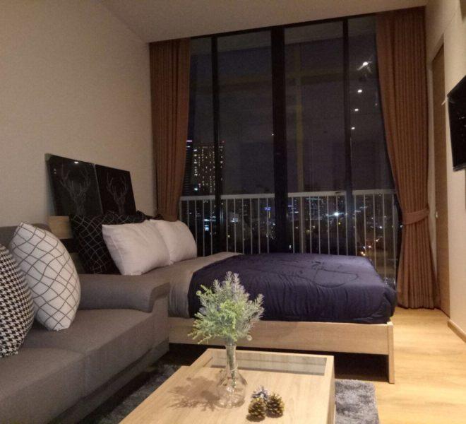 New condo for rent in Phrom Phong - 1 bedroom - low floor - Park 24 condominium