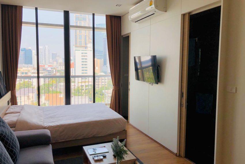 New condo for rent in Phrom Phong - 1 bedroom - low floor - Park 24 condominium - studio